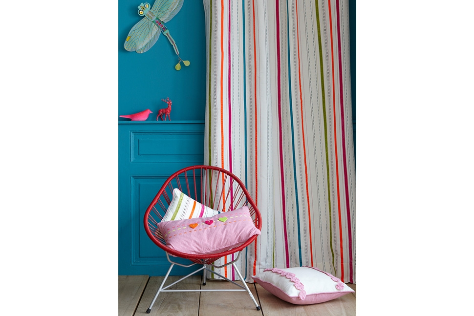 Kinderkamer Gordijnen : Gordijnen kinderkamer Decoratie Lian